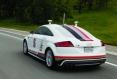 Audi TT-S без шофьор