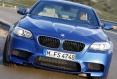 BMW M5 - първи снимки в движение