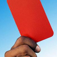 Шест червени картона в екшън на Югозапад