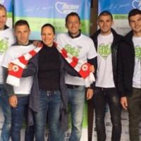 Играчи на ЦСКА и Янев участваха в хуманитарна акция (ВИДЕО)