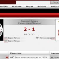 Локомотив Мз победи ЦСКА с 2:1