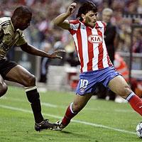 Агуеро пак бележи, Атлетико бие Марсилия
