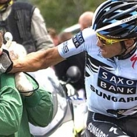 Контадор удря фен, пресата го разсипва