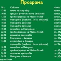 Националите се събират за мачовете срещу Португалия и Македония
