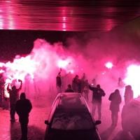 Феновете на ЦСКА от BOYS VIDIN спретнаха голямо шампионско парти