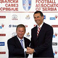 Издирват бившия шеф на сръбския футбол у нас