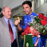 България поздрави Джиджи Буфон в Палермо