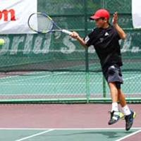 Австралийско българче мачка в тениса