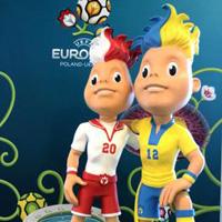 Талисманите на Евро 2012... пънкарчета