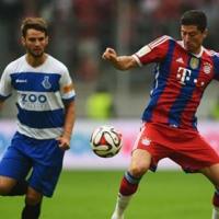 Левандовски вкара първи гол за Байерн