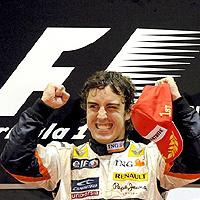 Алонсо спечели Гран При на Сингапур