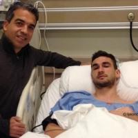 Защитник на Локо (Пд) оперира дясното коляно