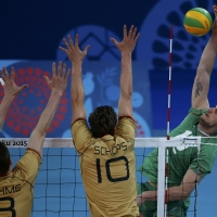 Сребро за волейболистите в Баку
