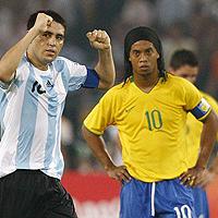 Дунга остави Роналдиньо извън състава на Бразилия