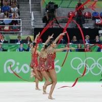 Маевска, Камберова, Найденова, Тодорова, Казанова - олимпийски медал за България