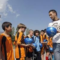 Орлин Старокин уважи детски спортен празник
