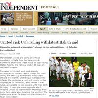 Манчестър Юнайтед пак открадна талант, сега от Фиорентина