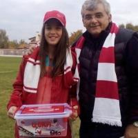 Калина събра отново стотици лева от феновете на ЦСКА
