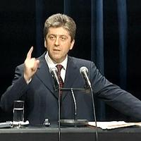 Георги Първанов ще гледа Сърбия - България