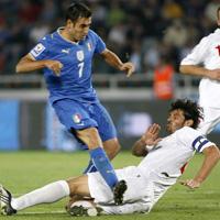 Каха Каладзе блесна с два гола за Италия