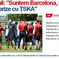 Джиджи Бекали: Стяуа е Барселона пред ЦСКА
