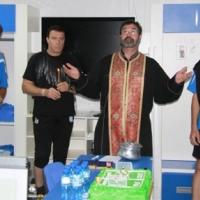 Черноморец контактува с Бога в началото на подготовката