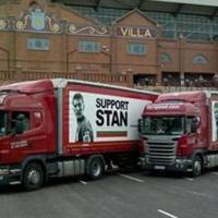 Брандират 70 камиона в подкрепа на Стилиян
