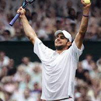 Анди Родик на 1/4-финал в Париж
