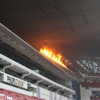 Домът на Станислав Манолев се подпали