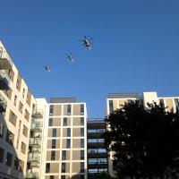 Хеликоптери бдят нон стоп над селото