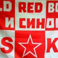 """OLD RED BOYS и СИНОВЕ"" има и знаме"
