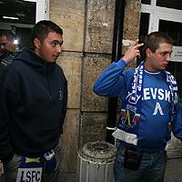 300 ''сини'' хулигани пратиха 6-има полицаи в болница след бой в парка на ''Герена''