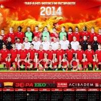 Календарът на ЦСКА е в продажба за 5 лева