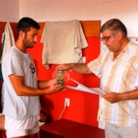 Наградиха Ангел Цолов, велик човек-футболист от Видин