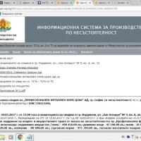 Съобщението за търга за активите на фалирания ЦСКА буква по буква