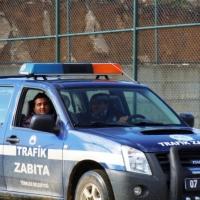 Турска полиция в лагера на ЦСКА