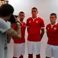 В Италия удари земетресение, но италианската Errea прави фотосесия с младите звезди на ЦСКА, преди сезона