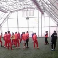 ЦСКА тренира на двоен празник