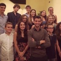 Григор вдъхновява деца в Монте Карло
