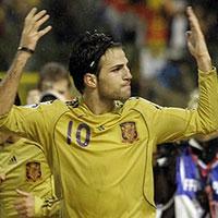Фабрегас се цели в историята на Евро 2012