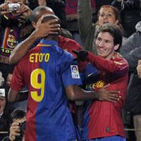 Барселона отмъсти на Нумансия за загубата на старта на първенството