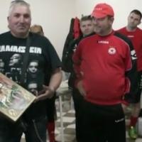 ВИДЕО: Свети Георги в съблекалнята на ЦСКА