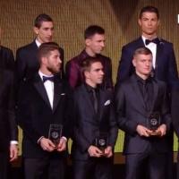Отборът на ФИФА за 2014 година