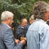 Мито Якимов на панахидата за Гунди и Котков