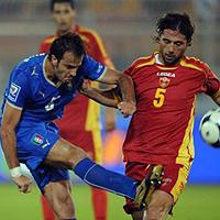 Акуилани герой за Италия срещу Черна гора