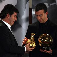 Георги Иванов пропусна церемонията Футболист на годината за 2008-а