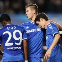 Хеттрик на Ето'о срещу Юнайтед беляза победа №100 за Жозе Моуриньо