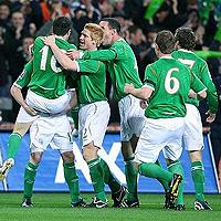 Ирландия уреди контрола с Нигерия