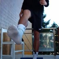 Рафаил Пърликов - тренировки на терасата и корс (VIDEO)