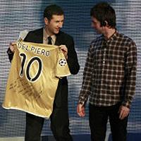 Oasis - любимците на Роналдо и Дел Пиеро